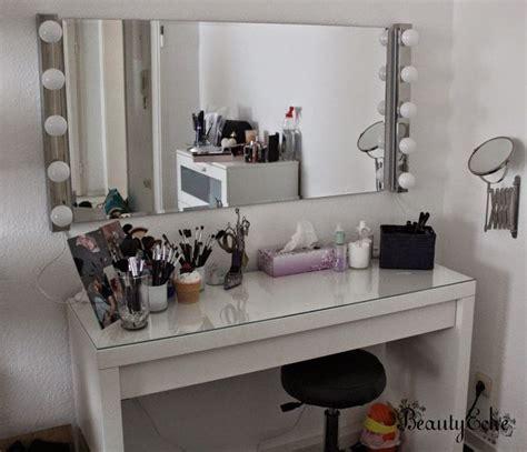 schminke badezimmerspiegel schminktisch spiegel beleuchtet moderner schminktisch mit