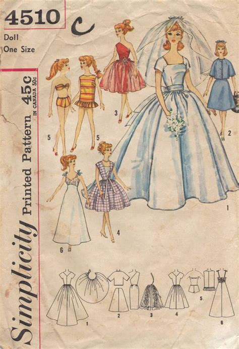 pattern clothes for barbie 772 best barbie dolls patterns ideas images on