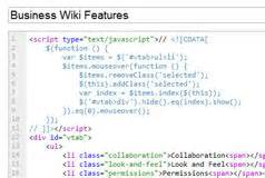 xml layout wiki business wiki features and applications editme
