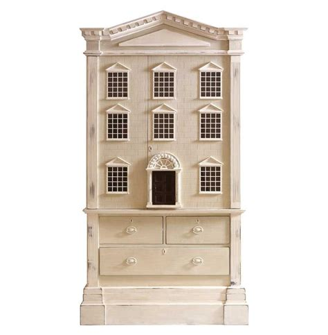 tall doll house louise french country tall dollhouse 3 drawer dresser cabinet kathy kuo home