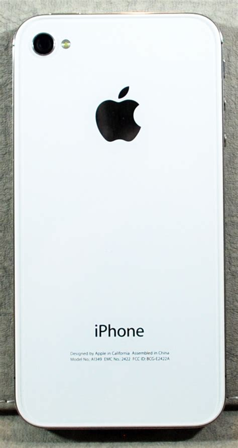 iphone 5a apple s white iphone 4 from verizon review the gadgeteer