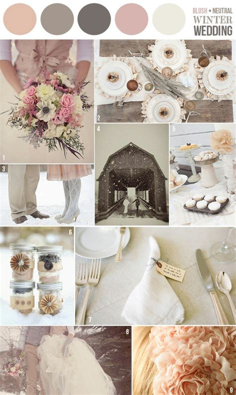 winter wedding color schemes winter wedding color schemes