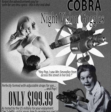 fake but funny vintage ads go retro