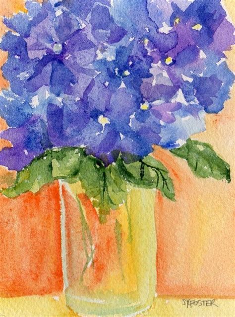 acrylic painting hydrangea 1000 ideas about hydrangea painting on