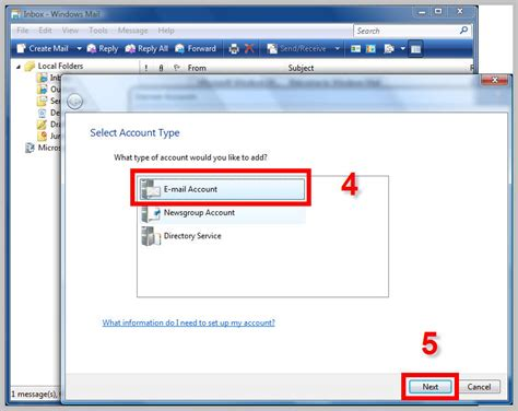 Office Qwest by Windows Mail Setup For New Qwestoffice Net Accounts