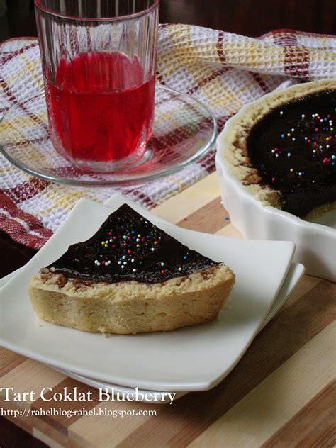 rahel blogspot tart coklat blueberry