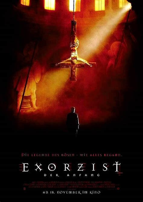 film online exorcist the beginning exorcist iv the beginning german b movie posters