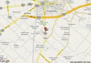 map of comfort inn rosenberg richmond