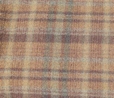 wool fabric brown green plaid wool fabric felted wool fabric 100