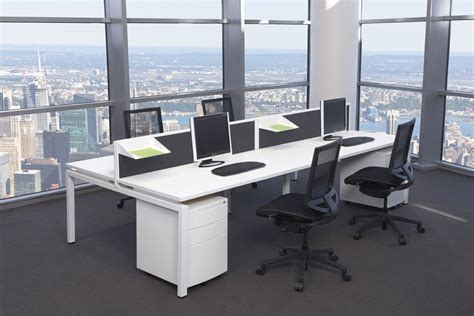 Modern Office Desk by White Modern Office Desk