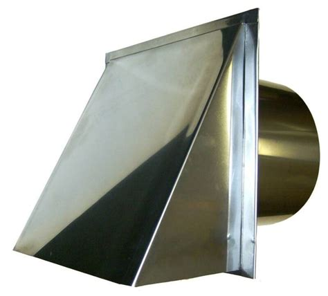 10 inch exhaust fan cover 8 inch stainless steel outside metal vent cover for
