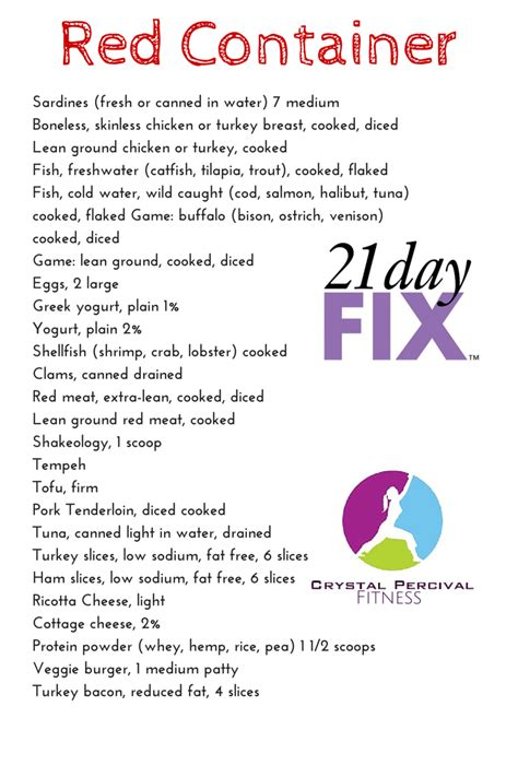 protein 21 day fix p fitness and food 21 day fix food list