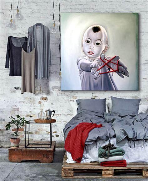 imagenes originales grandes cuadros para dormitorios cabeceros