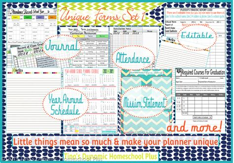 free printable homeschool planner pages curriculum planner must haves