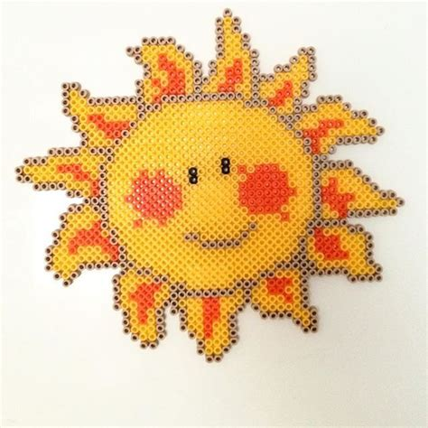 perler sun 631 best images about hama bead designs on