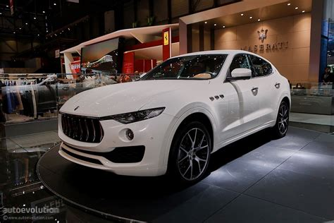 maserati geneva maserati levante suv looks like a ghibli on stilts in