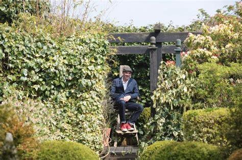 Murray In The Garden by Ashington Garden Designer Murray An Early