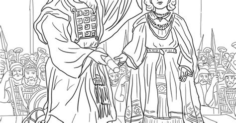 coloring pictures of king joash king joash crowned coloring page supercoloring com
