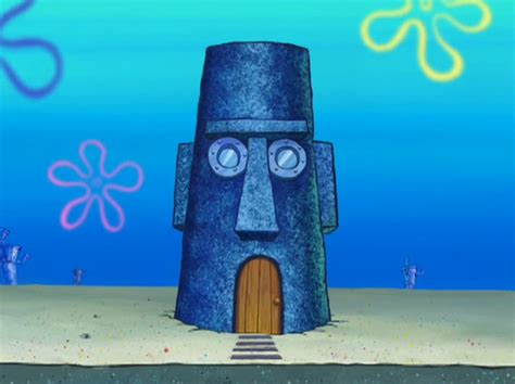 squidwards house