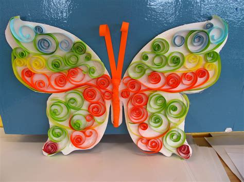 How To Make Butterflies Out Of Construction Paper - child care education safety