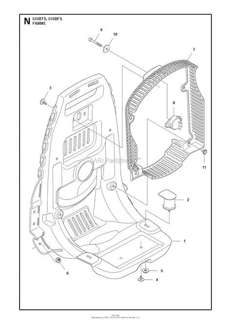 husqvarna bfs   parts diagram  frame