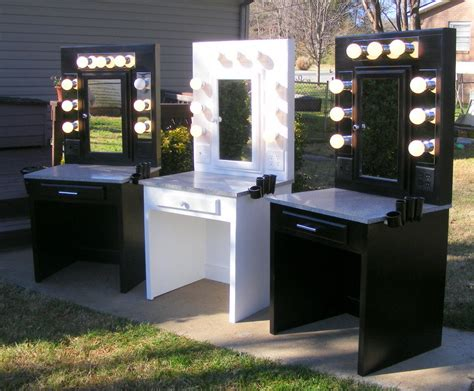 Light Up Mirror Vanity Desk by Vanity Mirror Desk By Dave105 Lumberjocks