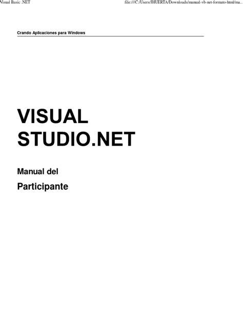 Visual Basic .NET | Microsoft Visual Studio | Basic