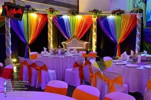 Nice Cheap Dining Room Sets vina canopy amp decor rainbow color concept wedding dinner