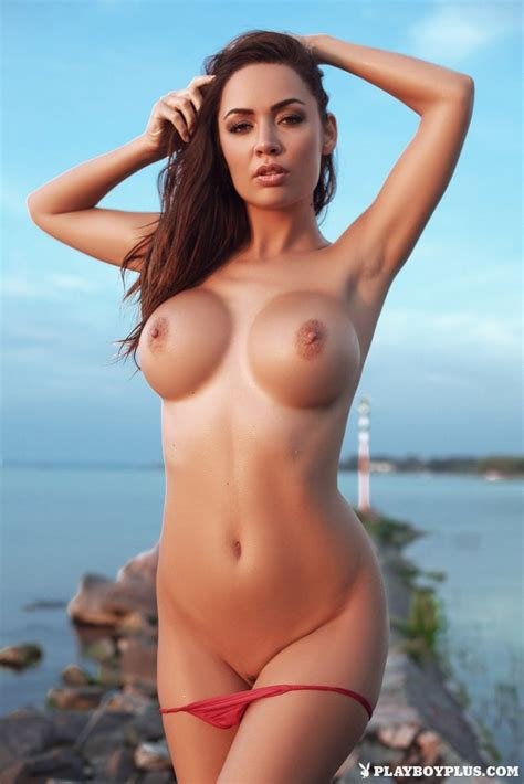 Adrienn Levai Nude Pictures Naughty At Dusk At Playmatehunter