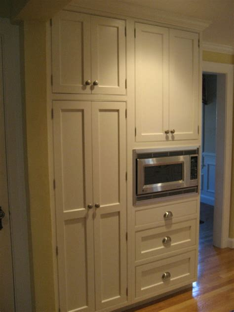 Kitchen Microwave Pantry Storage Cabinet Pantry And Microwave