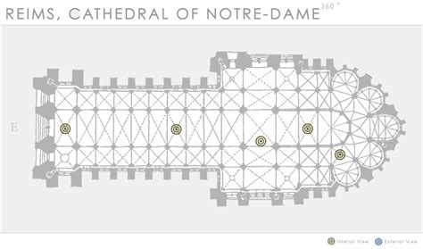 reims cathedral floor plan reims cathedral of notre dame 360 department of art