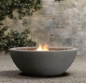 fireplace lava rock lava rock propane bowl