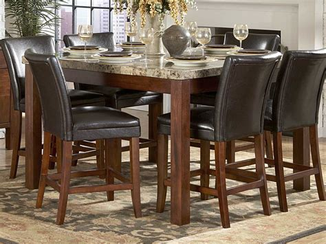 Bar Top Dining Room Furniture Dining Room Decor Counter Height Dining Table