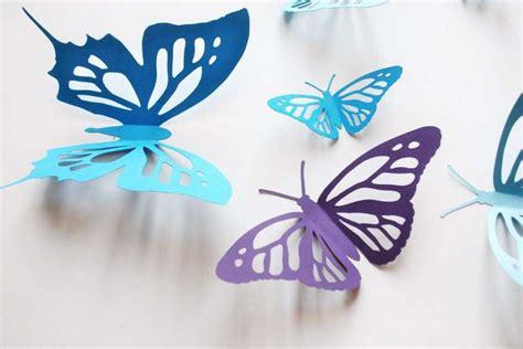 Farfalle Fai Da Te by Farfalle Di Carta Fai Da Te Da Realizzare Con I Bambini