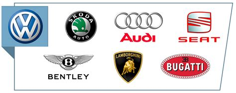 volkswagen group logo brands and logos
