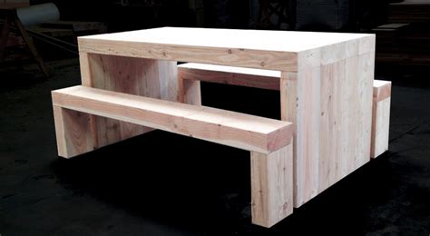 Railway Sleeper Furniture Uk by Garden Tables Buy Douglas Fir Refectory Table And