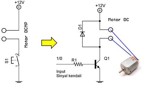 Saklar Elektronik driver motor dcmp saklar elektronik menggantikan saklar