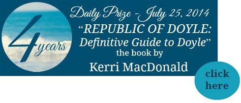 the guide to the republic guides books republic of doyle the definitive guide to doyle 171 sea and