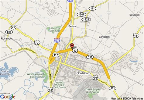 goldsboro carolina map goldsboro nc map