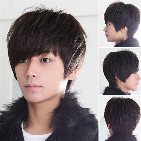 fashion men handsome short hair sexy korean boys male wig fashion men handsome short hair sexy korean boys male wig