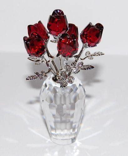 Flower With Swarovski swarovski flower figurine ebay
