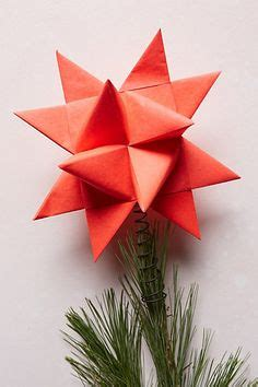 Origami Tree Topper - origami magic on origami tutorial origami and