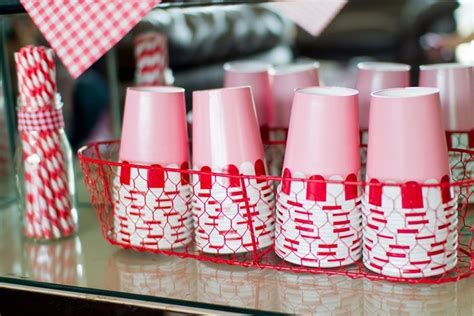 kara s ideas retro kitchen bridal shower with such
