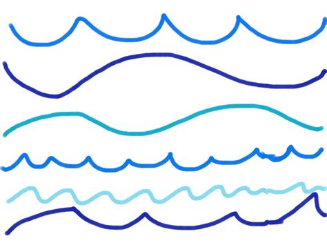 Drawing Waves by Pics For Gt Wave Line Drawing