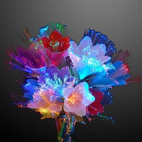 Fiber Optic Flower L by Gagtoysy Shop For Novelty And Toys