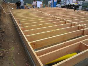 how to frame a floor framing green button homes