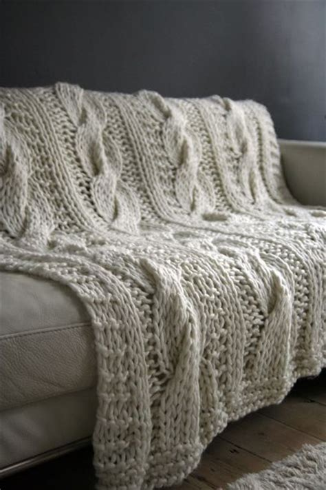 chunky cable knit throw gorgeous chunky cable knit throw dwell