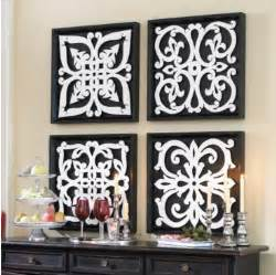 Black White Wall Decor Nice And New Ballard Design Black Amp White Pattern Plaques