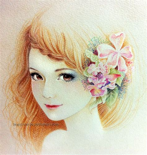 beautiful girl by tho be on deviantart