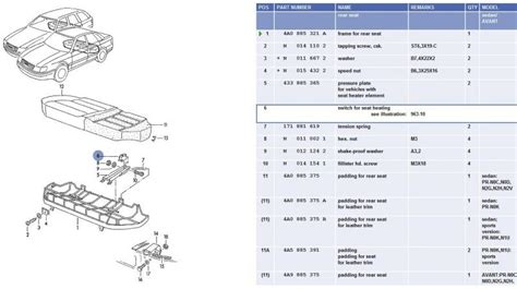 seat heater wiring diagram assistance audiworld